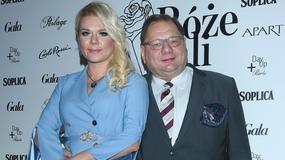Róże Gali 2017: Ryszard Kalisz z żoną na imprezie. Jak się prezentowali?