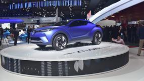 Paryż 2014: Toyota C-HR, czyli kosmiczny crossover