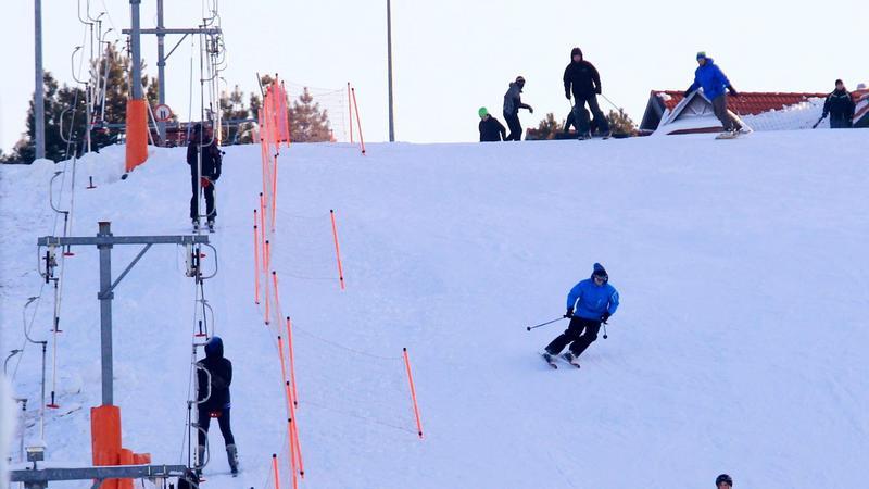"""Stok narciarski """"Kartasiówka"""", Ruś koło Olsztyna"""