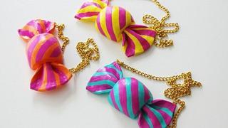 Biżuteria i dodatki wyglądające jak pyszne słodycze