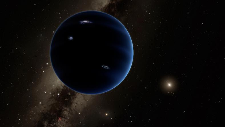 A Földnél tízszer nagyobb, rejtélyes égitest a Kilences bolygó nevet kapta a csillagászoktól /Fotó: AFP