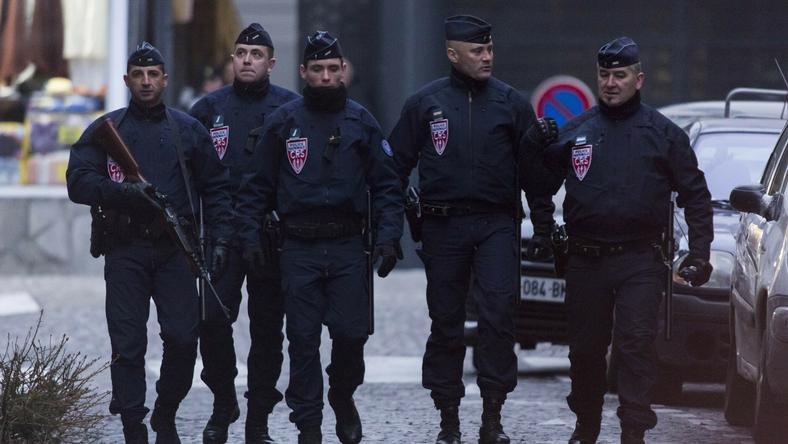 A francia rendőrök végeztek a támadóval/Fotó: AFP