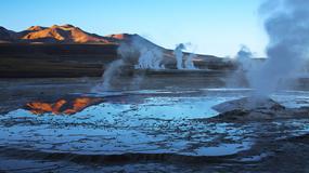 Gejzery El Tatio - najwyżej położone pole gejzerów na świecie