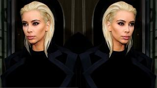 Kim Kardashian przefarbowała się na platynowy blond
