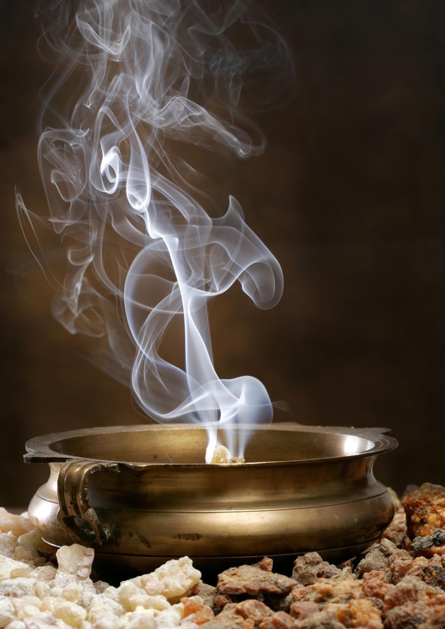 Kadzidło - pierwsze perfumy ludzkości
