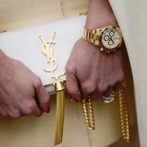Must have: złoty zegarek