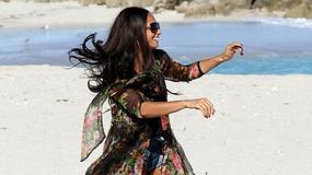 Alesha Dixon na plaży w Miami Beach
