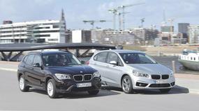 BMW X1 kontra BMW serii 2 Active Tourer