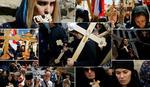 ISUSOVIM KORACIMA Vernici iz Srbije u procesiji Jerusalimom