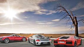 Ruf, Pagani, Lamborghini i Ferrari: moc jest z nami!