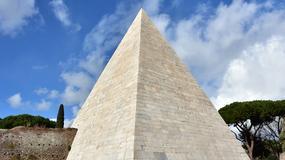 Piramida Cestiusza w Rzymie dostępna dla zwiedzających