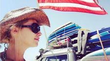 Joanna Orleańska na wakacjach w USA. A jej córka? Piękna!