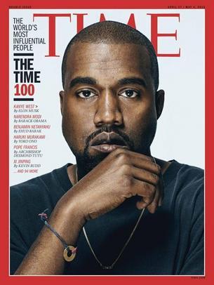"""Kanye West na okładce magazynu """"Time"""". Tym razem bez Kim Kardashian"""