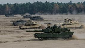 Leopardy ramię w ramię z amerykańskimi Abramsami na manewrach w Świętoszowie