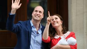 Księżna Kate urodziła syna. Zobacz ich pierwsze wspólne zdjęcia po wyjściu ze szpitala