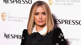 Salma Hayek zrobiła się na blond. Wygląda lepiej?