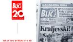 "JUBILEJ ""BLICA"" Dve decenije na istoj strani – VI i MI"