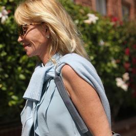 Melanie Griffith uśmiecha się na swój sposób