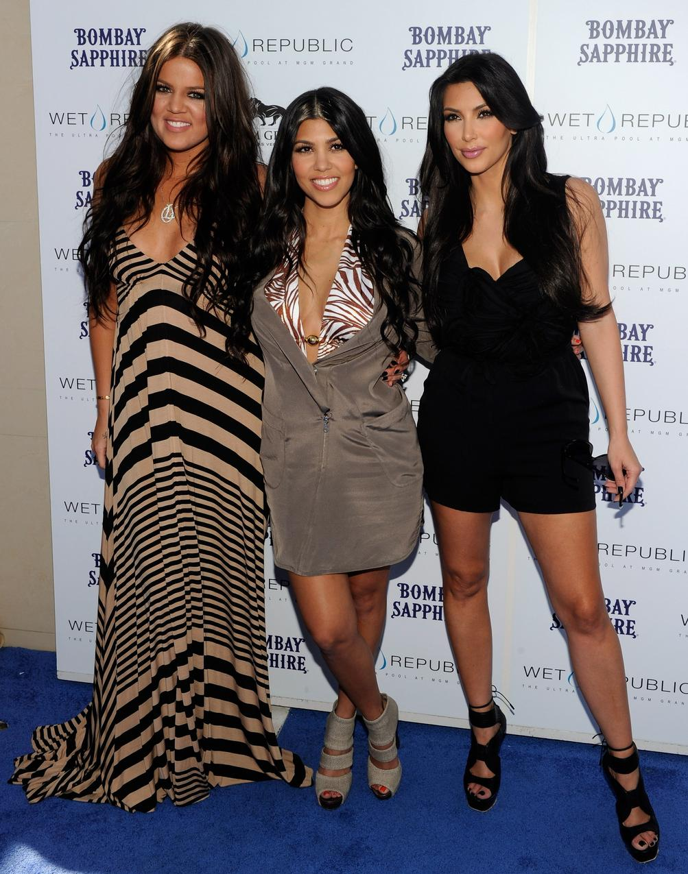 2010: Kim Kardashian z siostrami