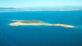 Isola di Mal Ventre - bezludna wyspa u wybrzeży Sardynii wystawiona na sprzedaż