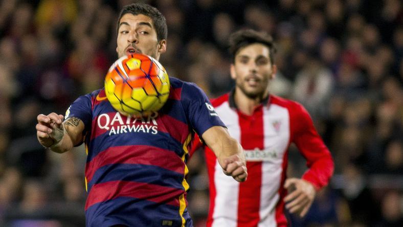Suárez volt a meccs főhőse /Fotó: AFP