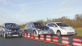 Elektryzujące porównanie BMW i3, Nissana Leafa i Renault Zoe