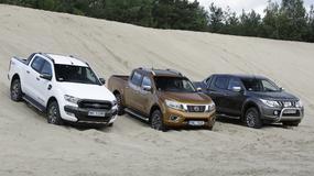 Pikapy na asfalcie i w terenie – porównanie Forda Rangera, Mitsubishi L200 i Nissana NP300 Navary