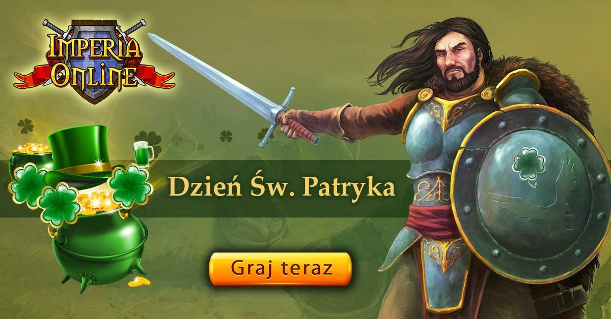 Dzień Świętego Patryka w Imperia Online