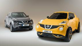 Nissan Juke Origami: auto z papieru