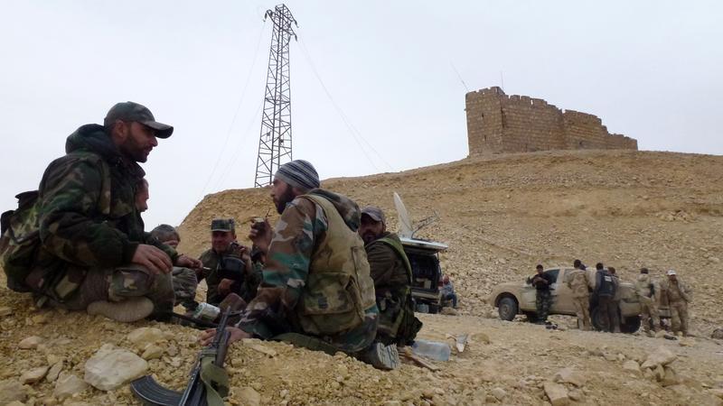 Visszafoglalta az Iszlám Államtól Palmürát a szíria hadsereg / Fotó: AFP