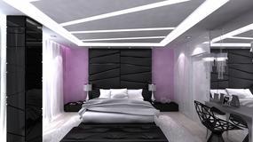 Jasna przytulna sypialnia