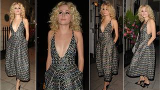 Best Look: Pixie Lott we wzorzystej sukience