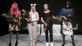"""Tłum gwiazd na premierze sztuki """"Pozytywni"""""""