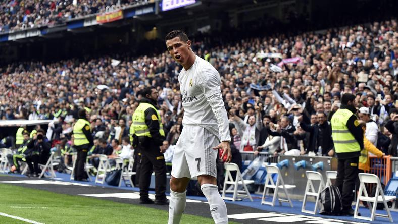 Ronaldo gólöröme – ez volt a 20. ebben a bajnokságban /Fotó: AFP