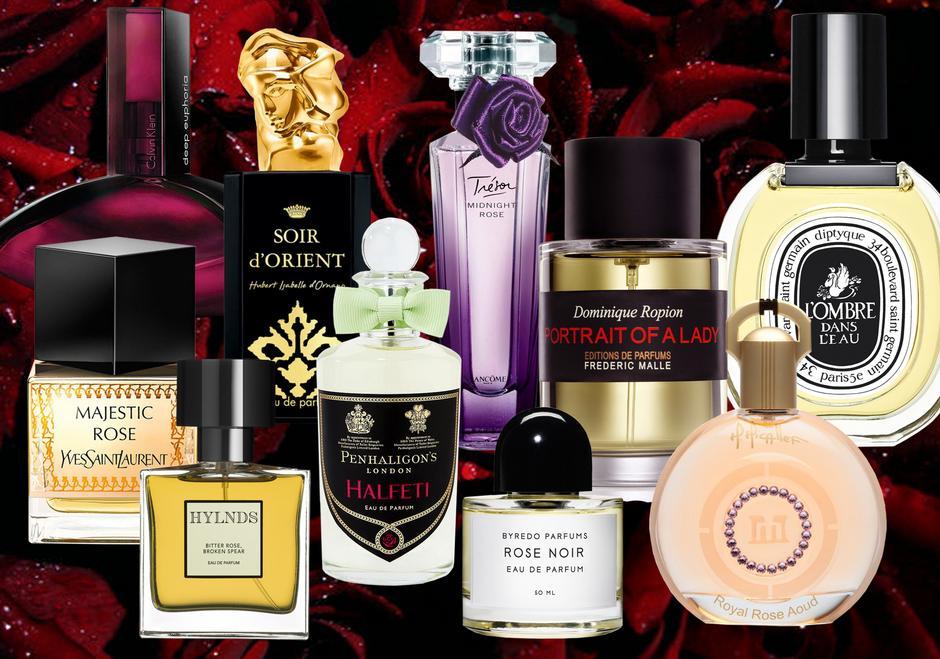 Róża - perfumy z różą
