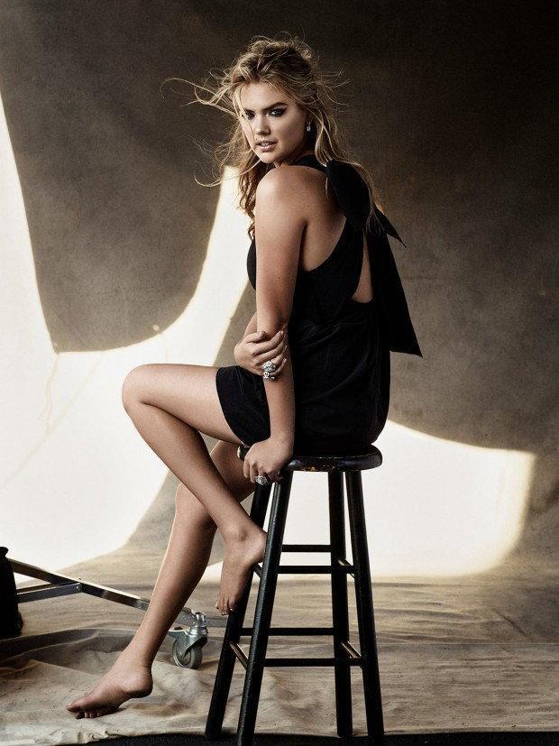 Kate Upton/ fot. Harper's Bazaar Australia