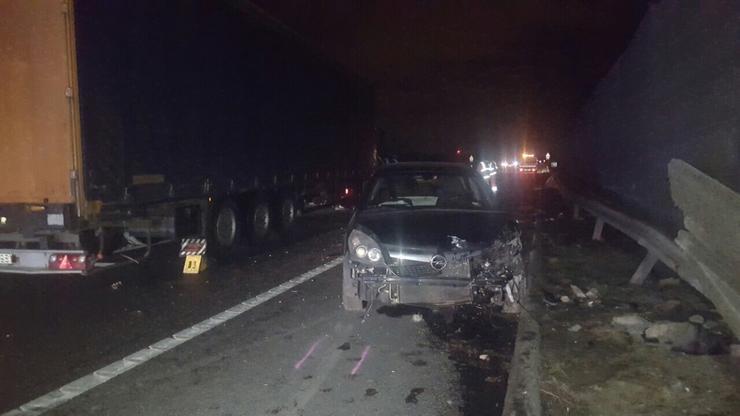 A baleset az M7-es autópályán történt/Fotó:Blikk