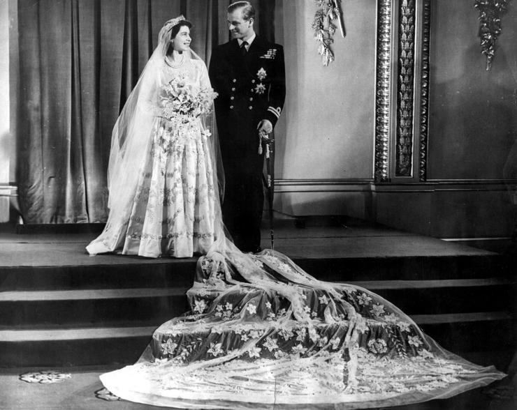 Két évvel a második világháború befejezése után, 1947. november 20-án házasodtak össze a londoni Westminster-apátságban / Fotó: NorthFoto