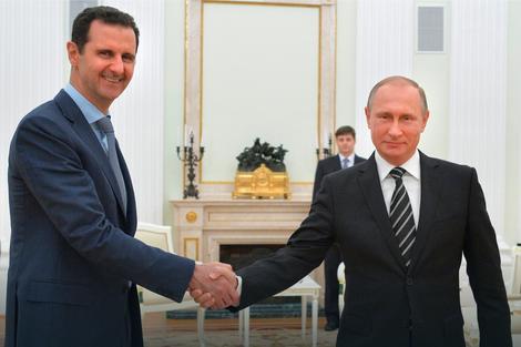 Asad s najvećim saveznikom Putinom