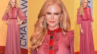 Best Look: Nicole Kidman w sukni Gucci