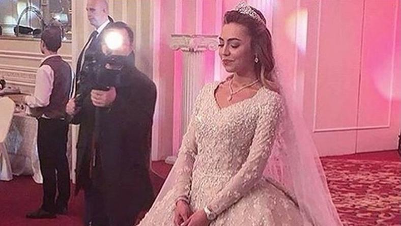 A menyasszonyi ruha / Forrás: Instagram