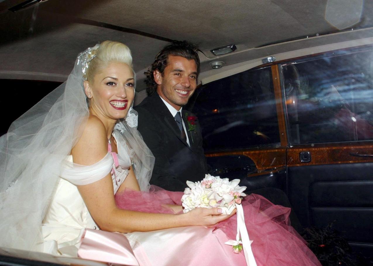 Tęczowe suknie ślubne