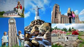 Kaszubski Park Miniatur koło Kartuz - ponad 60 miniatur słynnych budowli