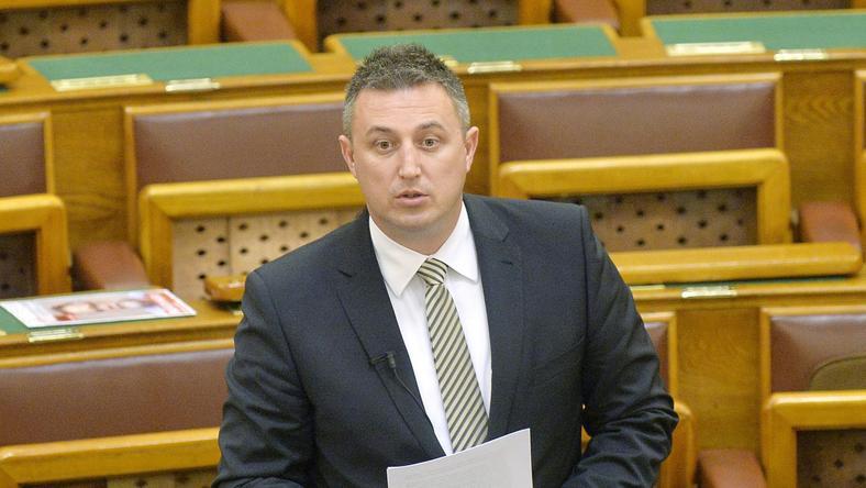 Győrffy Balázs (Fidesz) a legtöbb adósságot tüntette fel vagyonnyilatkozatában / Fotó: MTI-Máthé Zoltán