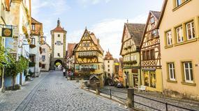 Rothenburg ob der Tauber - bajeczne średniowieczne miasteczko w północnej Bawarii