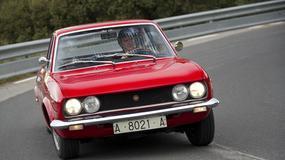 SEAT 124 Sport Coupe na Silvretta Classic 2012