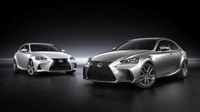 Lexus IS po liftingu - kosmetyka