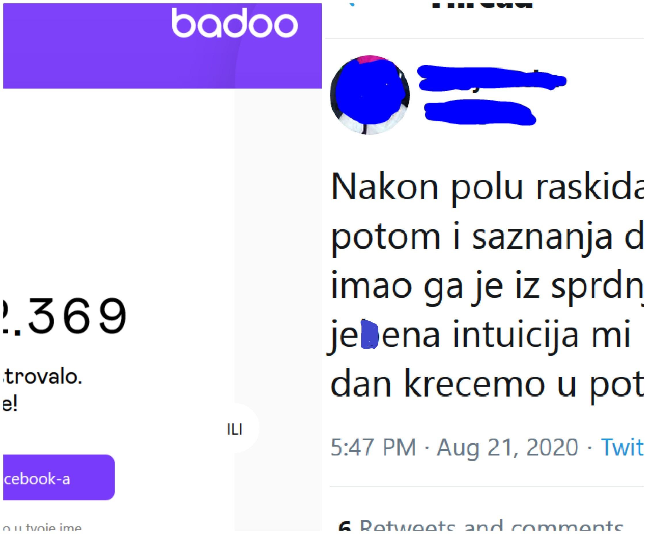 Badoo profil je izbrisan tvoj Kako odjaviti