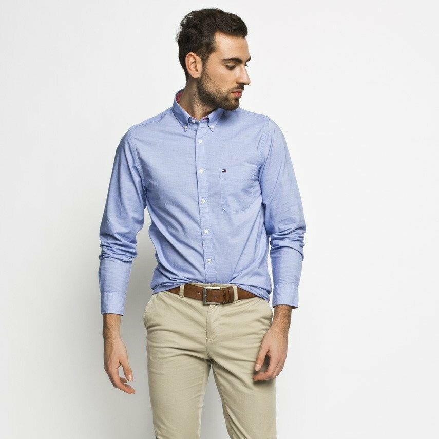 Niebieska koszula Answear