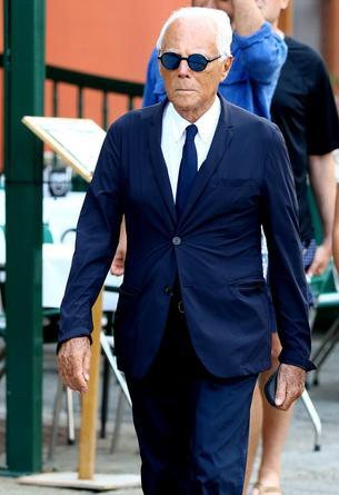 82. urodziny Giorgio Armaniego